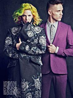 Ms Mr for L'Uomo Vogue, Hair Color by Lena Ott #lenaottcolor