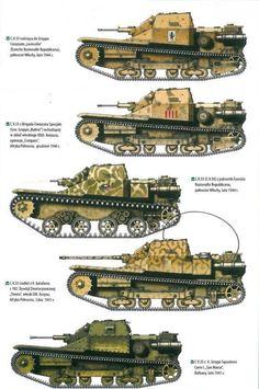 El-Alamein 1942 Egypt 26 1:72 Carro//Panzer//Tanks//Military M13//40 Littorio