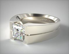 Design your own tension set engagement ring online. Browse our stunning selection of tension set rings, and choose the perfect diamond to match, all in HD. Engagement Rings Couple, Beautiful Engagement Rings, Designer Engagement Rings, Silver Wedding Bands, Diamond Wedding Rings, Diamond Engagement Rings, Antique Jewellery Designs, Mens Gold Rings, Ring Designs