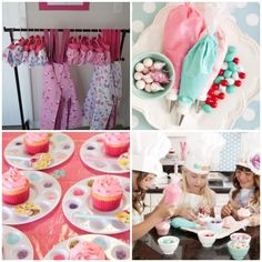 Decorar cupcakes con ninos en cumpleanos infantil