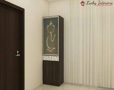No photo description available. Pooja Room Door Design, Bedroom Door Design, Bedroom Cupboard Designs, Girl Bedroom Designs, Modern Kids Bedroom, Modern Bedroom Design, Drawing Room Interior Design, Temple Design For Home, Mandir Design