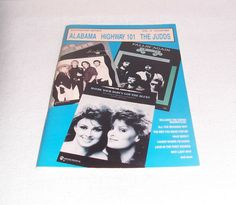 Alabama Highway 101 Music Book The Judds Superstar Series Book Vol. 4 1988 Country Song Book Country Music ICreateAndCollect Etsy Shop by ICreateAndCollect on Etsy