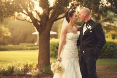 The love is obvious in this photo! It's from a wedding at University Park in Sarasota, Florida! Check out our country club venue, you don't have to be a member to get married here! #UniversityParkWeddings http://www.universitypark-fl.com/weddings/ Photo by Imely Photography