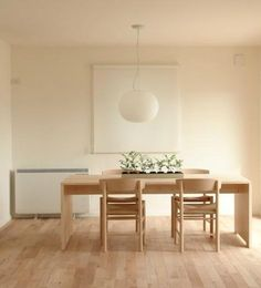 dining-rooms-light-wood-white-art-decoration-dining-chairs-dining-tables-pendant-lights