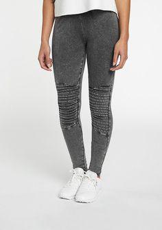 Urban Classics Leggings Denim Jersey dark grey | SNIPES Onlineshop