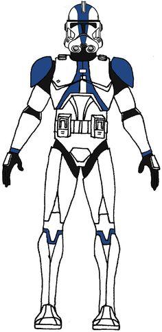 Clone Trooper 501st Legion Type 2 Oz, Ringo, Umbara 1, 3, 4, 5, 6, 7, Umbaran Airbase
