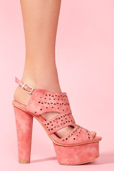 Sequoia Platform in Coral  i need these!!!!!!