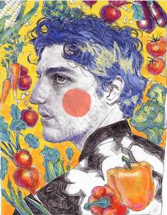 Real weird quality whatever final version on redbubble link in bio Photoshop Louis garrel Art Hoe, Psychedelic Art, Pretty Art, Art Portfolio, Art Sketchbook, Aesthetic Art, Art Inspo, Painting & Drawing, Art Reference