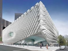 Design Unveiled for the Broad Museum / Diller Scofidio + Renfro ☮k☮ #architecture