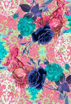 Miriam Castillo | Design & Illustration awesome floral print