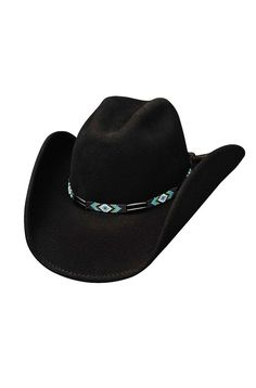 Shapeable Wool Cowboy Hat - Secret Message