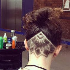 Amazing Undercut / hair tattoo / hair design / under cut