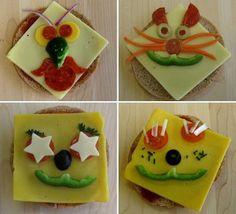 Decoración comida para niños