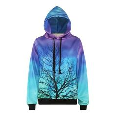 Cheap tree sweatshirt, Buy Quality hoodie tracksuit directly from China fashion sweatshirt Suppliers: Harajuku Print Gradient Color Withered Tree Sweatshirts Fashion Long sleeve with hat Men Women vogue Hooded Hoodies Tracksuit Sports Hoodies, Cool Hoodies, Party Vintage, Suits For Women, Casual, Harajuku, Yoga, Prints, Clothes