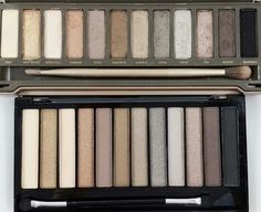 The Budget Beauty Blog: Makeup Revolution Iconic 2 Palette Swatches- Naked 2 Dupe!