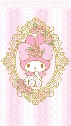 マイメロディ18 iPhone壁紙 Wallpaper Backgrounds iPhone6/6S and Plus My Melody iPhone Wallpaper