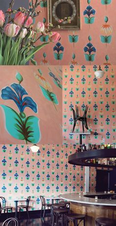 PatternPeople Blog Interiors Hand Painted Interiors | Michael Paulus