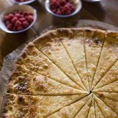 Galette de Perouges...butter and sugar...miam, miam! (Recipe in french language)