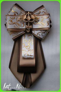 Одноклассники Ribbon Jewelry, Ribbon Art, Diy Ribbon, Ribbon Crafts, Ribbon Bows, Hair Ribbons, Hair Bows, Women Bow Tie, Hair Bow Tutorial