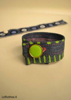 Jean bracelet Belt, Bracelets, Fabric, Accessories, Jewelry, Fashion, Bangles, Tejido, Jewellery Making