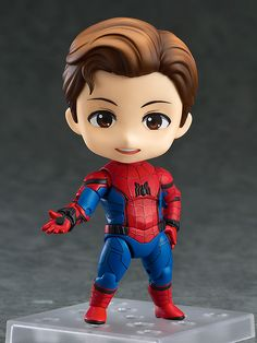 GOODSMILE 2017年6月8日起接受預約,2017年11月發售: Nendoroid《Spider-Man: Homecoming》Spider-Man: Homecoming Edition 4,900 Yen連稅 | TAGhobby.com