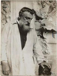 Auguste Rodin in his Atelier  1905   Gertrude Käsebier