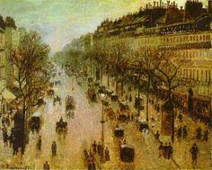 Boulevard Montmartre (1897) Camille Pissarro