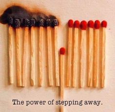 The Power Of Walking Away From Negative People is a power that very few people have. Sometimes the best thing to do is step back and let karma win. Quote Of The Day, Take A Step Back, Negative People, Wednesday Wisdom, Bipolar Disorder, Food For Thought, Thinking Of You, It Hurts, How Are You Feeling