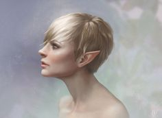 Tink - a digital painting of the Peter Pan character, by Ashley Walters (lithriel) on deviantART Peter Pan And Tinkerbell, Ashley Walters, Digital Portrait, Digital Art, Fantasy Characters, Female Characters, Faeries, Female Art, Digital Illustration
