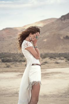 desert fashion shooting