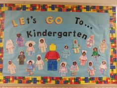 My Pre K bulletin board for end of school!