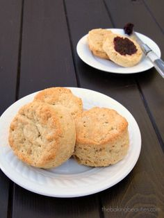 The BEST Gluten Free biscuit recipe I have ever had...and I have had many...Big, Fluffy, Gluten-Free Buttermilk Biscuits - The Baking Beauties