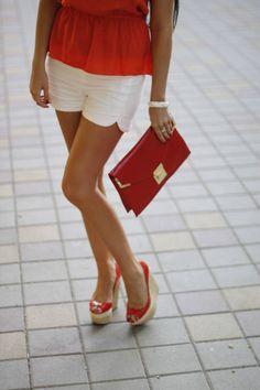 Orange Summer! My color, my style....