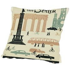 WT Berlin MOD Throw Pillow