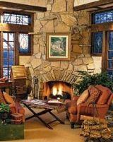Stone Corner Fireplace Designs . . . Vastly Versatile!