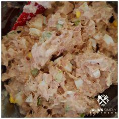 The Best Tuna Salad – Julias Simply Southern – Children's Food Ideas – Tuna Fish Recipes Old Fashioned Tuna Salad Recipe, Southern Tuna Salad Recipe, Best Tuna Salad Recipe, Ham Salad Recipes, Tuna Fish Recipes, Egg Recipes, Healthy Recipes, Healthy Meals, Tuna Fish Salad