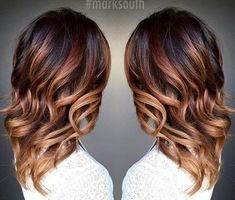 20 Cute Fall Hair Colors and Highlights Ideas caramel+ombre+highlights+for+dark+brown+hair Highlights For Dark Brown Hair, Ombre Highlights, Caramel Highlights, Colored Highlights, Ombre Hair, Haircut Pictures, Warm Blonde, Corte Y Color, Fall Hair Colors