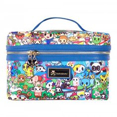 Tokidoki Summer Splash Overnight Cosmetic Train Case