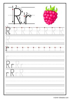 FREE Tracing Worksheet for Kids. Education Craft and Worksheet for Preschool,Toddler and Kindergarten. Learn to write the alphabet with 123 Kids Fun. Free Printable Alphabet Worksheets, Alphabet Writing Worksheets, Alphabet Writing Practice, Alphabet Tracing, Handwriting Worksheets, Tracing Worksheets, Alphabet Book, Preschool Worksheets, Alphabet Crafts