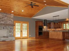 Photo of Brown Contemporary Living Room project in BLOWING ROCK, NC by Vpc Builders Inc