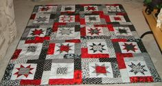 Sometimes I Quilt Too..Buckeye quilt idea
