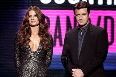 Stana Katic et Nathan Fillion de Castle