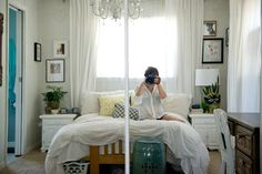 {Colorful Bedroom Decor}