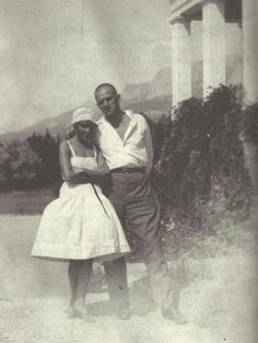 Lili Brik & Vladimir Mayakovsky 1926