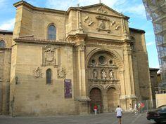 Santo Domingo de la Calzada , a orillas del río Oja « La Rioja turismo en pueblos
