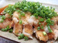 焼いた鶏肉におろしと薬味とポン酢だけ!なのにご飯がすすむ美味しさです♪ 2011.6.27話題のレシピ入りしました☆