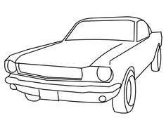 Jaguar Old Racing Car Coloring Page | Free Online Cars Coloring ...