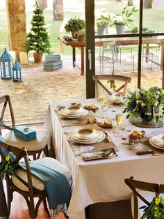 15 propuestas para decorar la mesa de Navidad