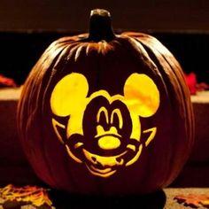 Mickey Pumpkin. Going to get pumpkins today!