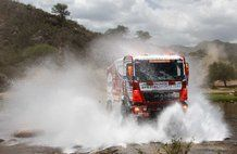 Dakar 2013, stage 10: Cordoba – La Rioja. Eurol VeKa MAN rally team